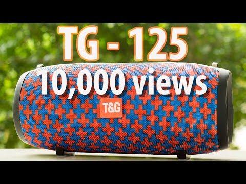 T&G 125 Portable Wireless Bluetooth Speaker