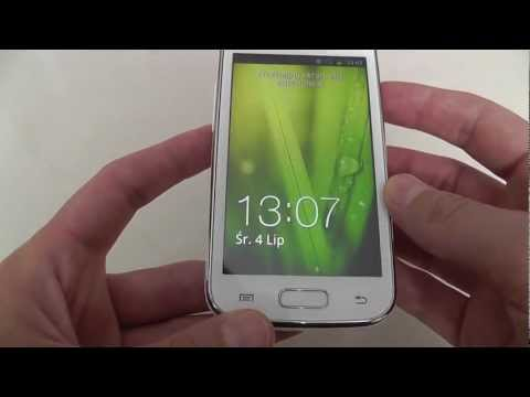 Unboxing white Samsung Galaxy ACE 2