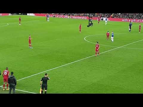 Sturridge On For Mo Salah Vs Everton At Anfield 02/12/2018