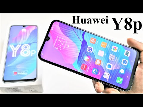Huawei Y8p - Unboxing and First Impressions