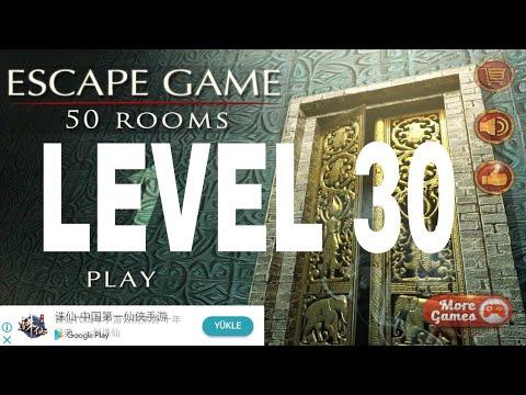 Escape Game 50 rooms 1  Level 30 Walkthrough