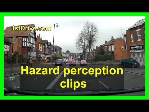 Hazard perception practice clips