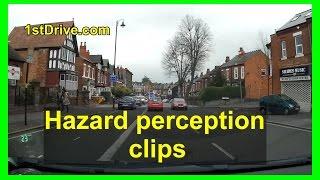 Hazard perception practice clips