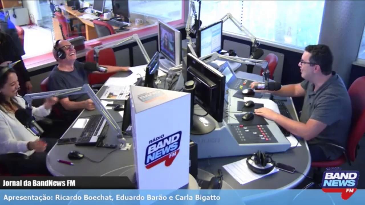 Resultado de imagem para ricardo boechat Jornal da BandNews FM
