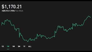 Robinhood Weekly Update 7 | $1170.21 Portfolio | $10 Dollars Projected Monthly Passive Income