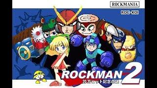 【コメ付】TASさんがロックマン2(FC)の最速クリアに挑戦  in 25:02
