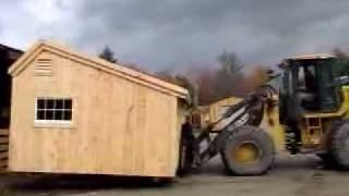 Jamaica Cottage Shop - Shed Moving