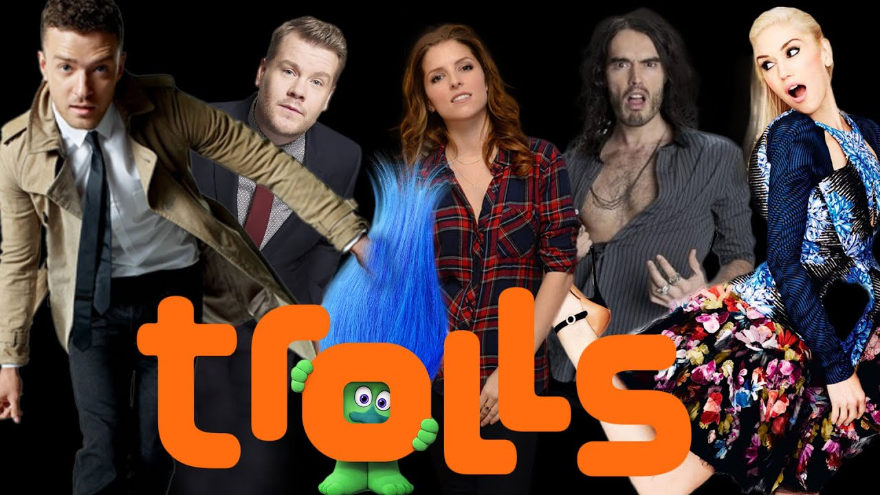 Dreamworks Trolls Reveals Cast And Characters