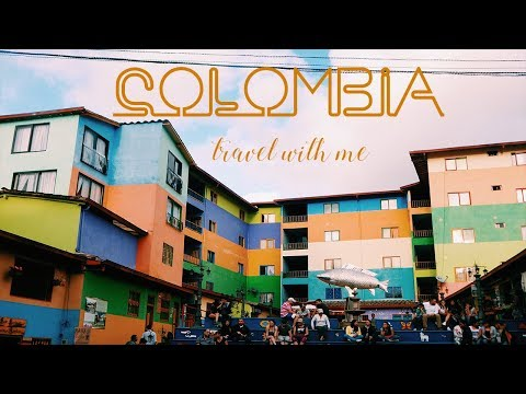 IN COLOMBIA ✈ TRAVEL WITH ME | Sacha Monro