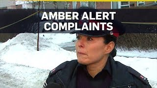 Peel Regional Police say people called 911 to complain about late-night Amber Alert