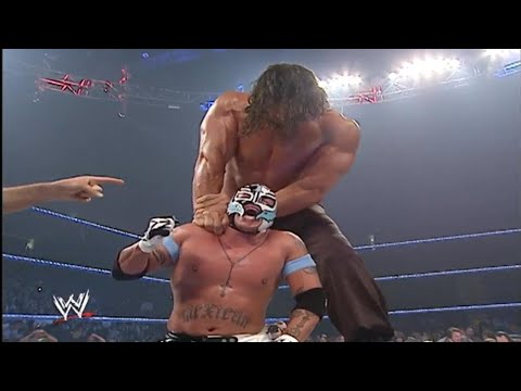 The Great Khali Vs  Rey Mysterio & Batista Saves Rey Mysterio From The Great Khali 720p HD