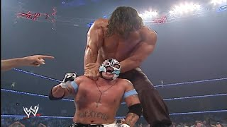 The Great Khali Vs  Rey Mysterio  Batista Saves Rey Mysterio From The Great Khali 720p HD