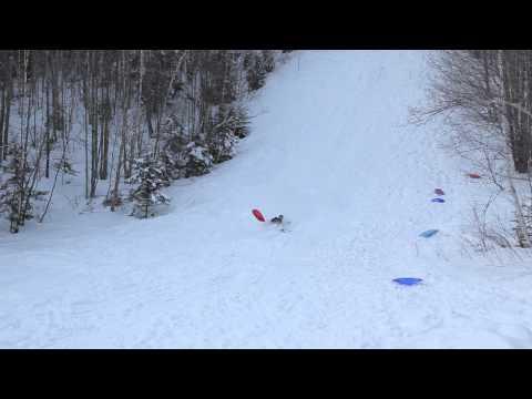 torsteins whitewash in nansen ski jump, berlin