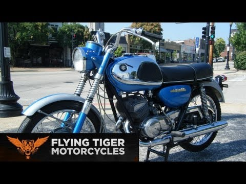 vintage motorcycle shop - flying tiger motorcycles in st louis mo