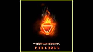 Willow smith Ft Nicki Minaj Fireball [ Official Instrumental ]