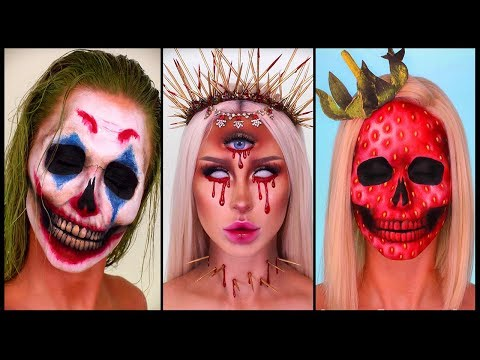 31 SPOOKY HALLOWEEN MAKEUP AND SCARY DIY COSTUMES TUTORIAL COMPILATION