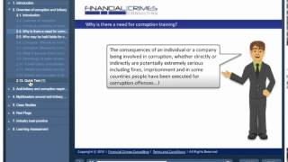 Introduction to Anti-Bribery and Corruption - Online Training Course
