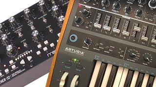 MOTHER 32 & MINIBRUTE 2: How to make a BIG sound