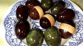 Как покрасить ЯЙЦА НА ПАСХУ? ТАКОГО ВЫ ТОЧНО НЕ ЗНАЕТЕ! Необычный способ покраски пасхальных яиц