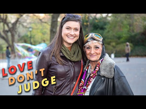 Tinder Gran Helps Woman Land A Hot Date | LOVE DON'T JUDGE from YouTube · Duration:  11 minutes 13 seconds