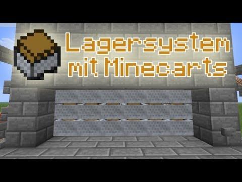 Minecraft Tutorial Lagerraum Minecarts De Hd Luchshie Prikoly