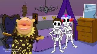 Las Calaveras Salen de Su Tumba Chumbala Cachumbala | Canción infantil con El Mono Silabo thumbnail