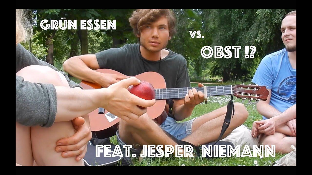 Grün essen vs. Obst!? - Vielfalt in der Rohkost! | feat. Jesper Niemann