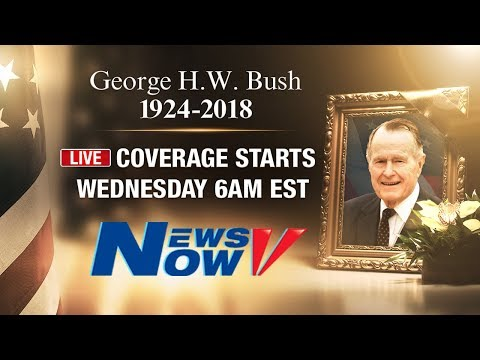 LIVE: President George H.W. Bush State Funeral In Washington D.C.