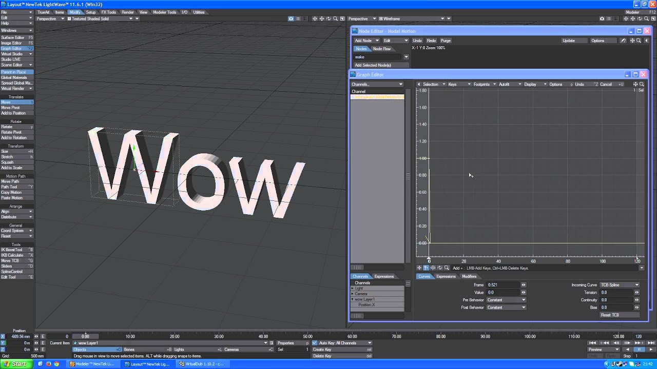 TrueArt LightWave 3D Text Special Effects 1 Full HD video tutorial