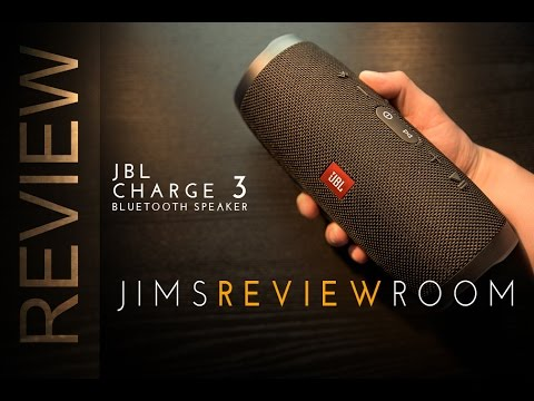 JBL CHARGE 3 Bluetooth Speaker - REVIEW  (w/ UE Boom2 & Bose Comparison)