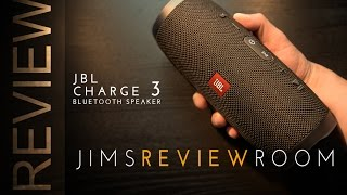 Video JBL CHARGE 3 Bluetooth Speaker - REVIEW  (w/ UE Boom2 & Bose Comparison) download MP3, 3GP, MP4, WEBM, AVI, FLV Mei 2018