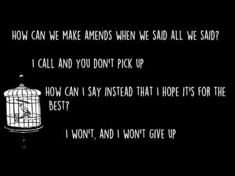 Luck Lyrics - American Authors