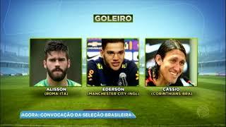 Baixar Balanço Geral mostra convocação da seleção brasileira para Copa do Mundo