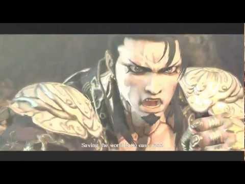 Asura's Wrath Boss Battle (Dark) Asura vs. Yasha