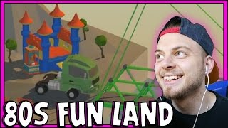 SquiddyPlays - Poly Bridge - 80's FUN LAND! [9]