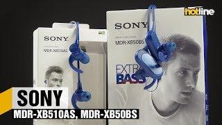 Sony MDR-XB510AS и MDR-XB50BS — обзор наушников