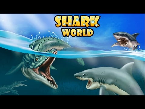 Shark World  Sharks Fighting & Evolution Gameplay HD 1080p 60fps