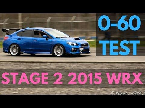3.7 Sec 0-60 TEST! | 2015 Subaru WRX | CHANNEL UPDATES