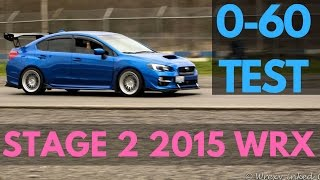 homepage tile video photo for 3.7 Sec 0-60 TEST!   2015 Subaru WRX   CHANNEL UPDATES