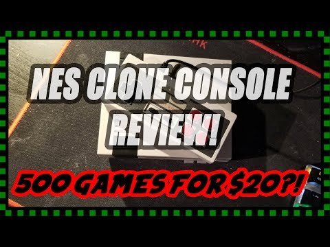 Should You Buy An NES Clone? (500 Games For $20!)