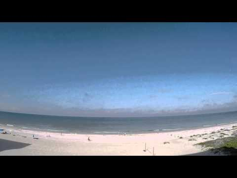 One hour of an Indian Shores, Florida beach morning - RAW 1080p