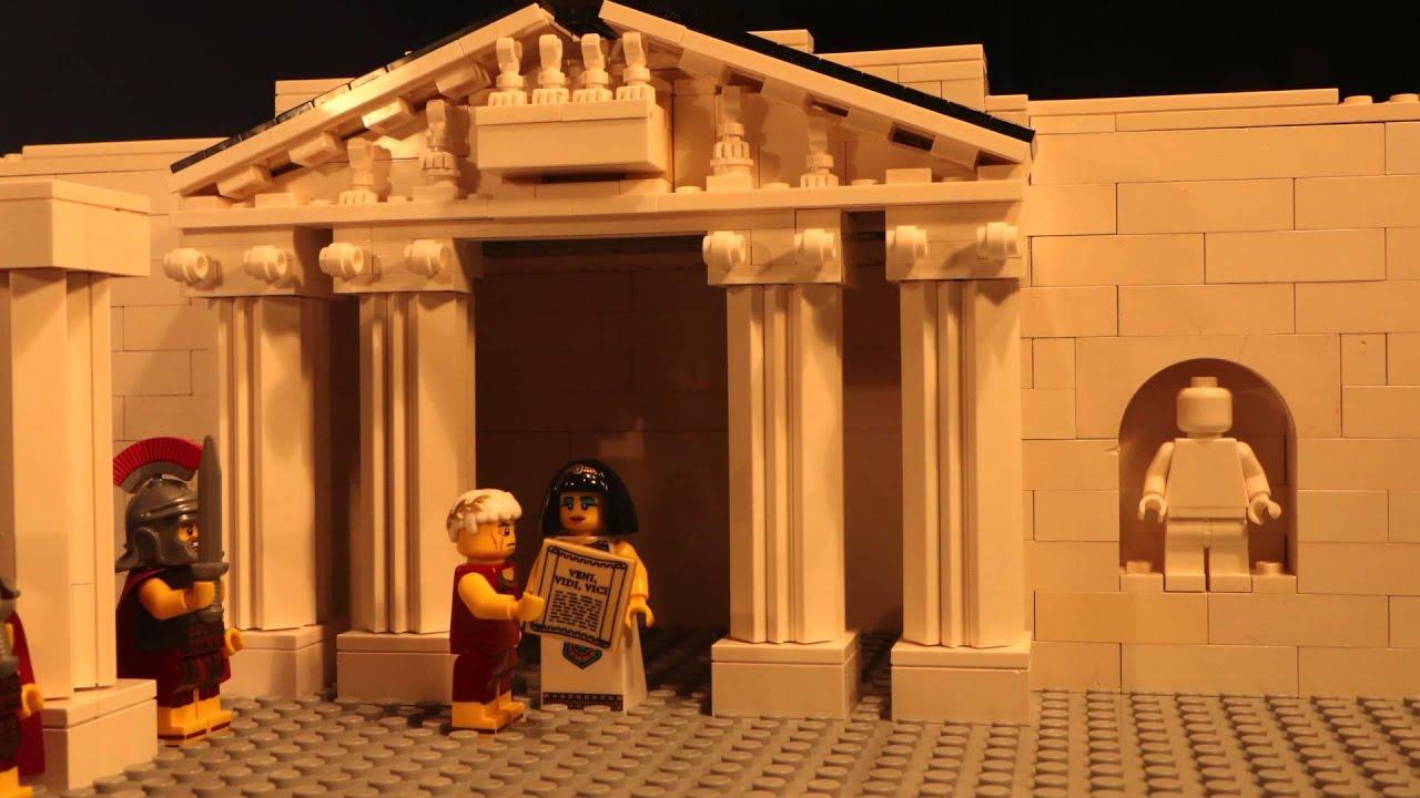 Julius Caesar En Cleopatra In Lego