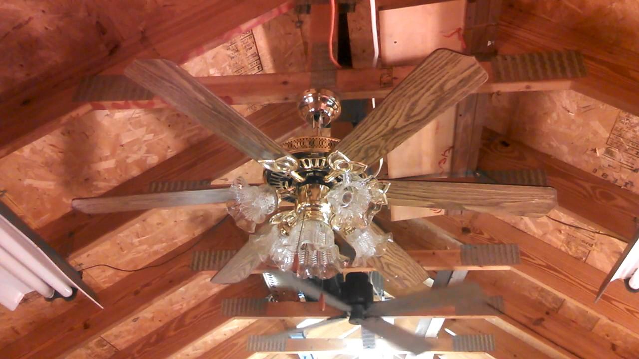 JCPenney 6 Blade Ceiling Fan - YouTube