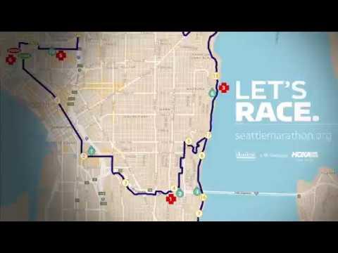 2017 Seattle Marathon Course Video