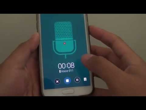 Samsung Galaxy S5: How To Record Conversations Using Voice Recorder