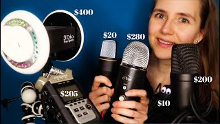 ASMR with 6 Microphones