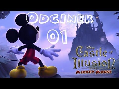 Zagrajmy w Castle of Illusion HD [01] PL - Wprowadzenie i Zaczarowany Las