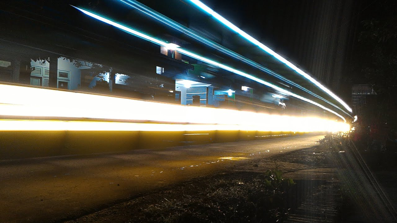 How To Take Photo Light Trail With Aplikasi Camera Fv 5 Long