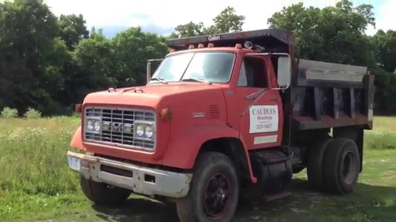 1978 GMC 9500 6-71 Detroit Powered Dump Truck