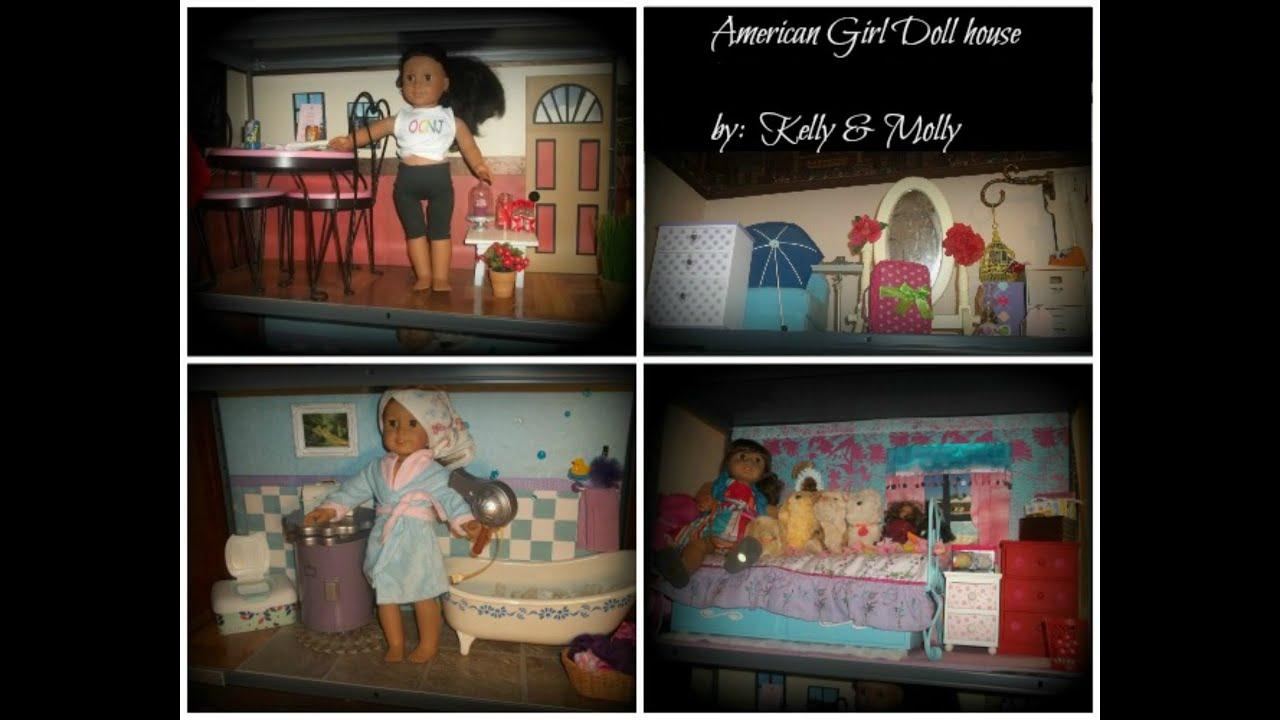 American Girl Handmade DIY Doll House amp Walls